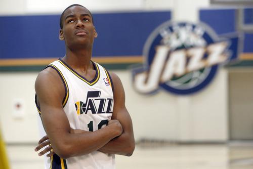 Francisco Kjolseth  |  The Salt Lake Tribune New Jazz recruit Alec Burks, a promising 19-year-old, is poised to help Utah.
