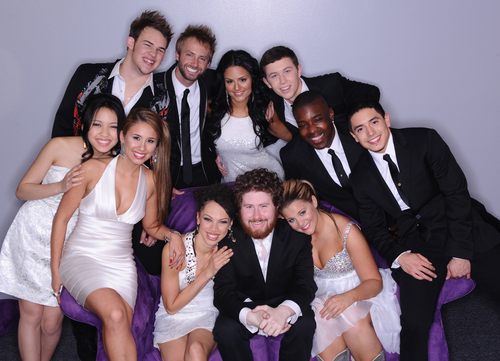 The final 11 contestants on