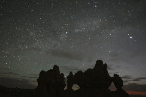 Thousands of visitors are expected to descend on Bryce Canyon National Park later this month for its annual Astronomy Festival, which coincides with the Astronomical League Convention (ALCON) June 29 through July 2. The park's dark skies make it a premier spot for stargazing. Courtesy Dan Ng | Bryce Canyon National Park