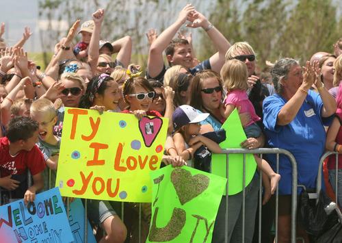 Leah Hogsten  |  The Salt Lake Tribune Thousands of fans of