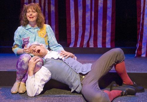 Paul Fraughton  |  The Salt Lake Tribune  A scene from Salt Lake Acting Company's 2011 production of