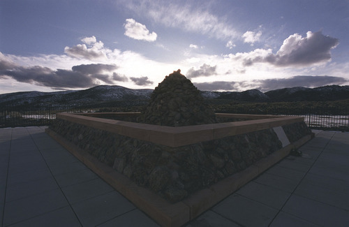 Tribune file photo.  The Mountain Meadows Massacre memorial has been named a national landmark.