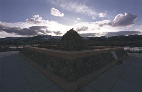 Tribune file photo.  The Mountain Meadows Massacre memorial has been named a national landmark.