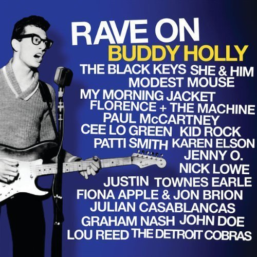 Cover of Buddy Holly CD.