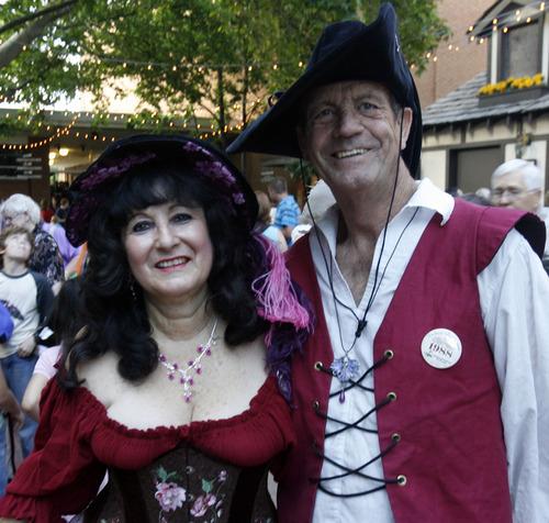 Rick Egan   |  The Salt Lake Tribune  Suzanne and Larry Fex, Las Vegas, on their way to