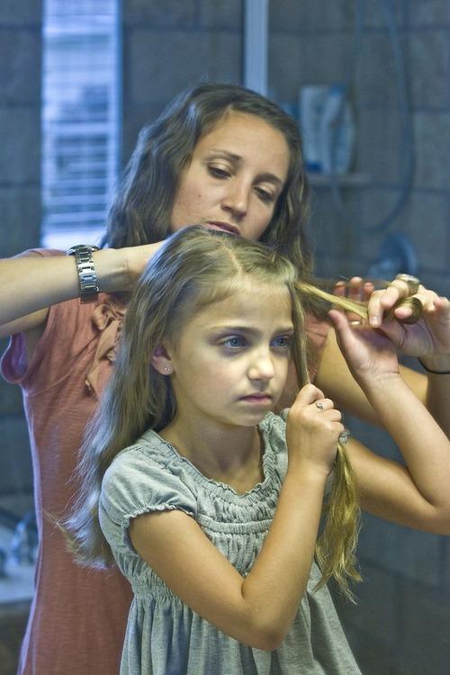 Brilliant Utah County Family Gains Youtube Hairdo Fame The Salt Lake Tribune Hairstyles For Women Draintrainus