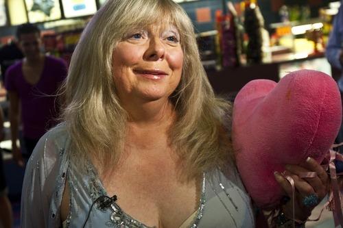 Chris Detrick | The Salt Lake Tribune  Joyce McKinney talks to members of the media at the Broadway Centre Cinemas after a screening of