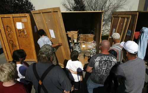 At these Utah auctions dreams are in storage The Salt Lake Tribune