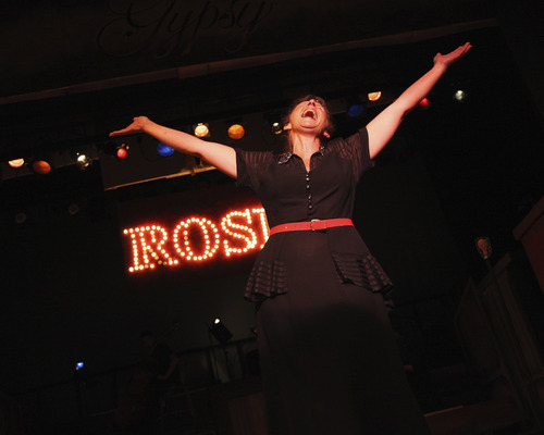 Courtesy Photo Teresa Sanderson plays Mama Rose, the fame-driven mother of daughters Louise and June in the musical