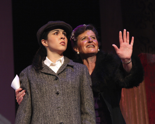 Courtesy Photo Lauren Noll (left) plays Louise with Teresa Sanderson as Mama Rose in the musical