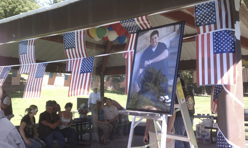 Leah Hogsten     The Salt Lake Tribune  U.S. Army Cpl. Raphael Arruda's 22nd birthday, there will be a big party near his home in South Ogden.