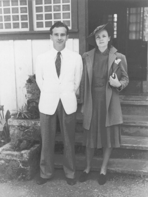 Helen and Edgar, dressed for an evening out in Bagiuo, Philippines, 1940. Photograph courtesy of the Helen Foster Snow Papers at Brigham Young University, Perry Special Collections, Harold B. Lee Library.