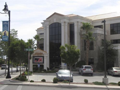 Mark Havnes  |  The Salt Lake Tribune  Headquarters of SunFirst Bank, 120 E. St. George Boulevard in St. George.