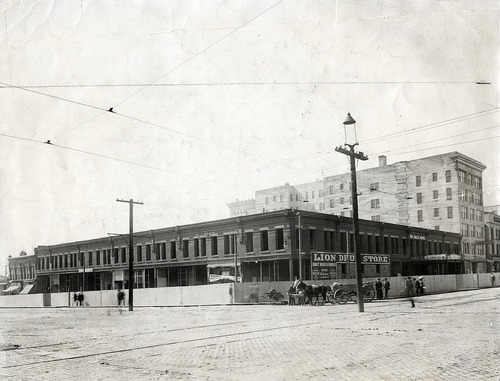 Salt Lake Tribune file photo  This undated photo shows Hall's Hotel at 300 South State Street in Salt Lake City.