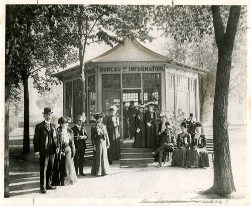 Salt Lake Tribune file photo  This undated photo shows the Bureau of Information at Temple Square in Salt Lake City.
