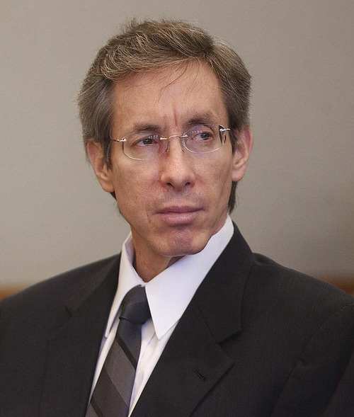 FILE - In this Nov. 15, 2010 file photo, Warren Jeffs sits in the Third District Court in Salt Lake City. Jeffs' Texas sexual assault conviction is considered a victory for prosecutors and former church members who revile him. But it may not mean much for the future of his church and the blindly faithful who follow him. Members of the Fundamentalist Church of Jesus Christ of Latter Day Saints still revere him as a prophet, God's voice on earth, even though he was convicted for having sex with sect girls as young as 12.  (AP Photo/Trent Nelson, Pool, File)