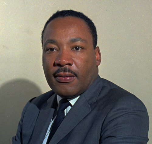 This undated file photo shows Rev. Martin Luther King Jr. Associated Press file photo
