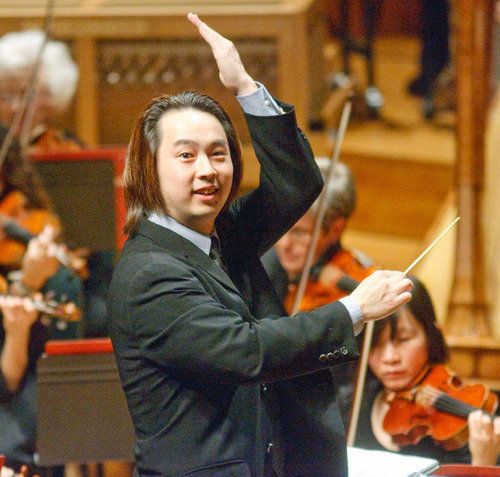 File  |  The Salt Lake Tribune Utah Symphony associate conductor David Cho. He will become music director of Texas' Lubbock Symphony in fall 2012 after first spending an academic year as associate conductor at Rice University's Shepherd School of Music in Houston.