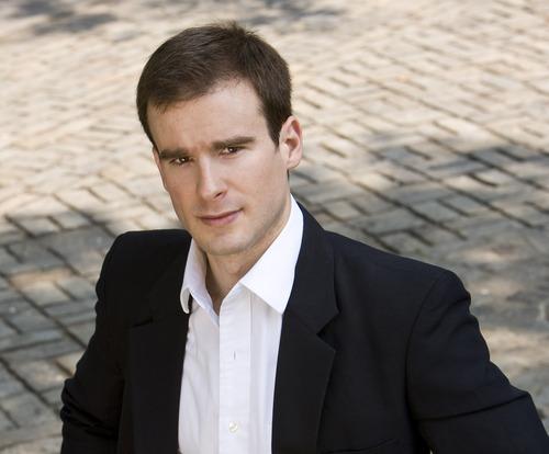 Vladimir Kulenovic, Utah Symphony's new assistant conductor. Courtesy J. Henry Fair