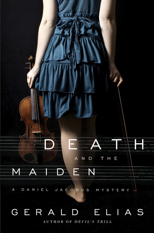 Book cover for Utah writer and musician Gerald Elias's third musical murder mystery. Courtesy Image