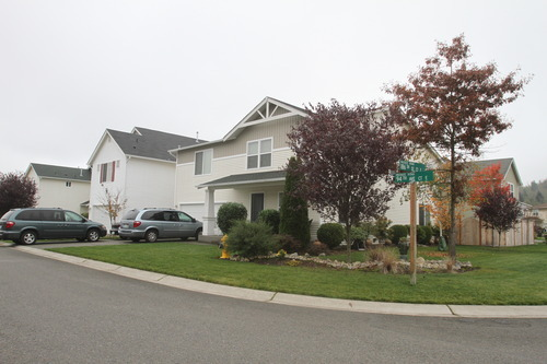 Rick Egan   |  The Salt Lake Tribune  House where Josh Powell lives with his dad in Puyallup Washington, Thursday, November 4, 2010.