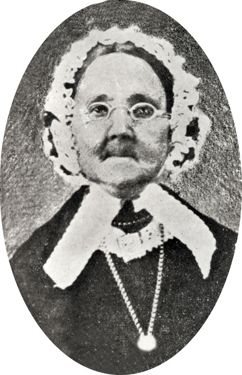 Rhoda Richards, one of Joseph Smith's plural wives. Courtesy of the International Society of the Daughters of Utah Pioneers.