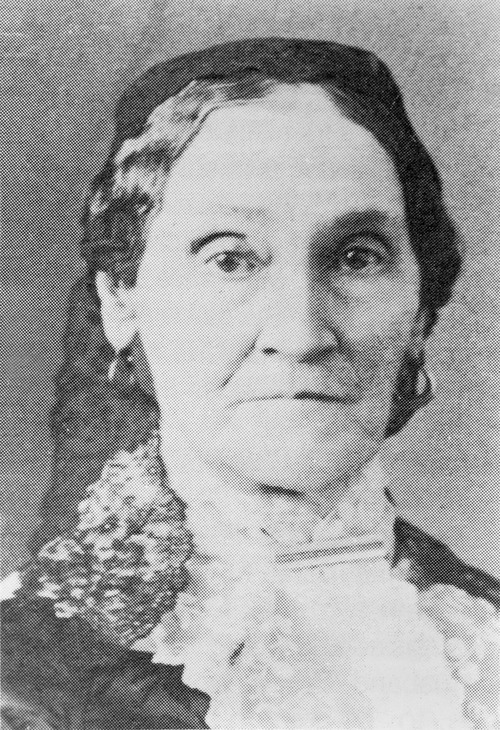 Nancy Marinda Johnson, one of Joseph Smith's plural wives. Courtesy of the International Society of the Daughters of Utah Pioneers.