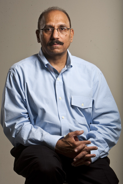 Chris Detrick  |  The Salt Lake Tribune Javaid Majid poses for a portrait Tuesday August 23, 2011. Javaid Majid was on Pan Am 73 when it was hijacked on September 5, 1986, while on the ground at Karachi, Pakistan, by four armed men of the Abu Nidal Organization.