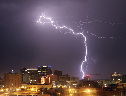 Photos From The Lightning Storm August 28 2011