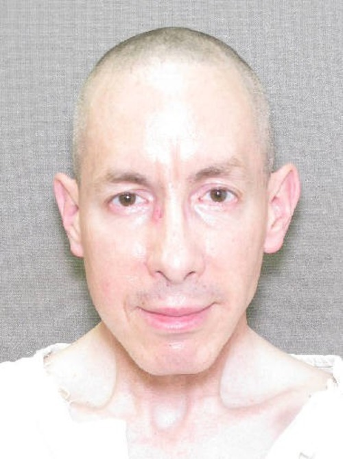 Warren Jeffs' booking mug shot.