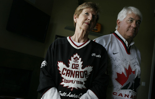 Francisco Kjolseth  |  The Salt Lake Tribune Sonny and Kathy Tangaro never gave a second thought to being Olympic volunteers when the 9/11 attacks occurred, despite fears the Salt Lake City Games could be a natural target for terrorists. But  they felt comfortable with heightened security all around and had a wonderful experience caring for Canada's hockey teams, particularly the women.