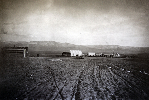 Tribune file photo Circa 1911, the original camp that was the beginnings of Clarion. Clarion was the work of Jewish settlers in the early 1900s. After several setbacks, the settlement near Gunnison failed and was abandoned. Photos courtesy of Bob Goldberg