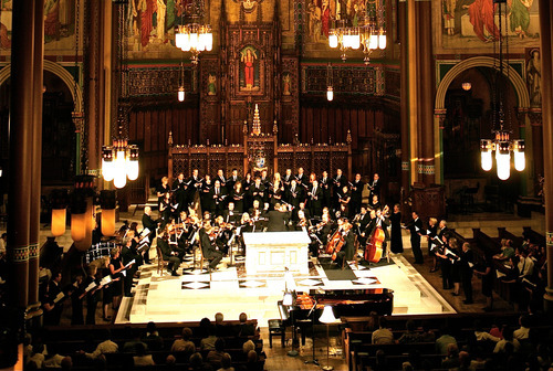 Utah Chamber Artists will perform two free concerts as part of its Collage Concerts, Sept. 19 and 20 in the Cathedral of the Madeleine. Courtesy photo