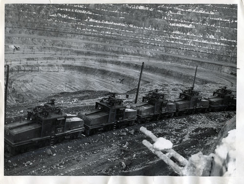 Tribune file photo  The Utah Copper Company, now known as Kennecott, is seen in this 1949 photo.