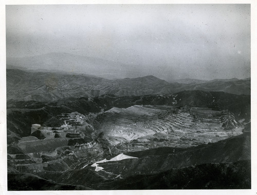 Tribune file photo  The Utah Copper Company, now known as Kennecott, is seen in this 1935 photo.