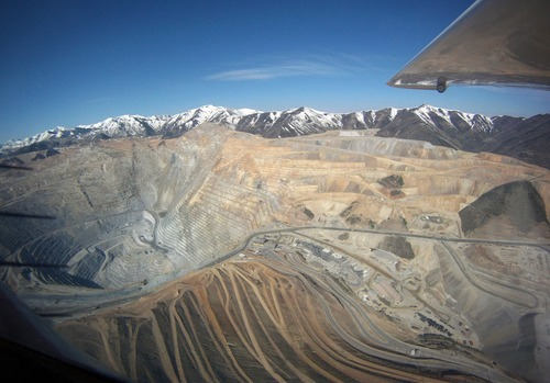 Francisco Kjolseth  |  The Salt Lake Tribune This photo of Kennecott was shot on Monday, June 6, 2011 and is included in this gallery so readers can see what the mine looks like now.