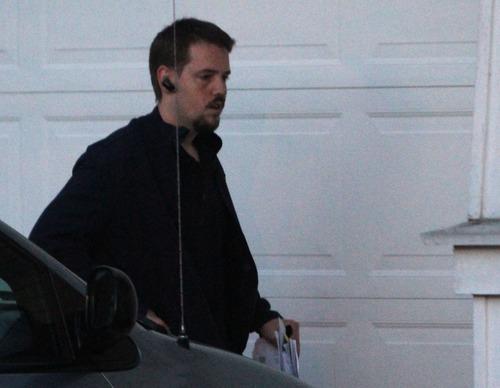 Rick Egan  | The Salt Lake Tribune  Joshua Powell returns to his home in Puyallup, Wash., at 7:25 p.m. Friday.