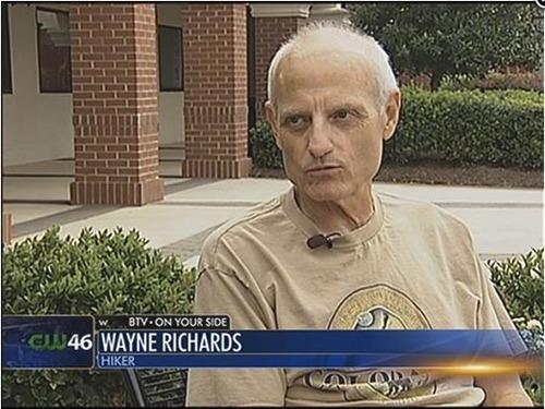 Wayne Richards. Credit: WBTV 3, Charlotte N.C.