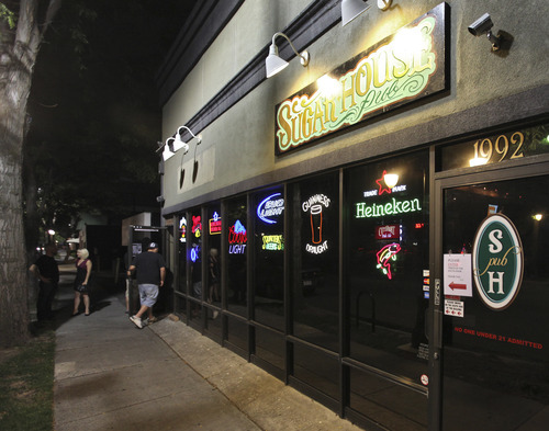 Lennie Mahler  |  The Salt Lake Tribune Sugar House Pub, 1100 East and 1992 South, features live music, pool and two bars after it recently expanded to fill the building.