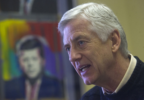 Al Hartmann  |  The Salt Lake Tribune Rocky Anderson left the Salt Lake City mayor's office two years ago and founded High Road for Human Rights, a nonprofit organization.