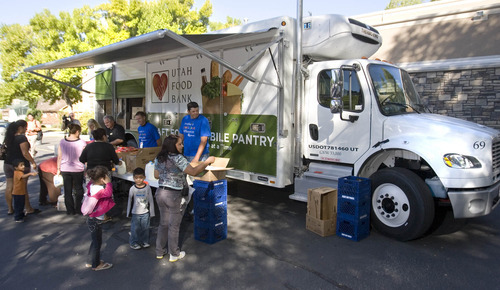 spedition mobel hoffner, utah's new food bank goes mobile with refrigerated truck - the salt, Design ideen