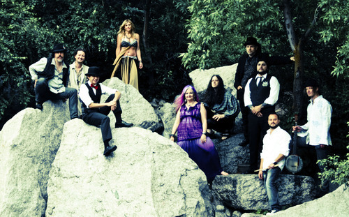 Juana Ghani, is a Utah-based band that blends and warps rock, Old World ways and Gypsy lore. The band includes The Salt Lake Tribune's Tony Semerad. (Courtesy Juana Ghani)