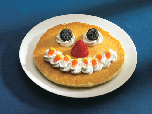 Children can get The Count Spatula Scary Pancake at IHOP during October. IHOP