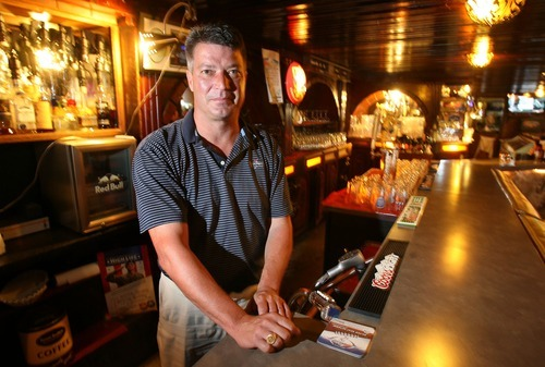 Steve Griffin     The Salt Lake Tribune Brad Hepworth owns