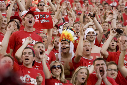 Scott Sommerdorf | Tribune file photo There's an excited buzz around the U. of U. campus as the Utes prepare to host their first Pac-12 game Saturday.