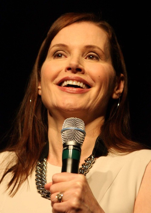Leah Hogsten | The Salt Lake Tribune Actress Geena Davis encouraged women in attendance at the Smart Women Smart Money conference to empower themselves, their daughters and young women by breaking down gender barriers in her own comedic and self-depricating way Wednesday. The conference was presented by Zions Bank's Women's Financial Group and the Salt Palace Convention Center.