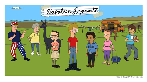 Rex, Grandma, Kip, Napoleon, Pedro, Deb and Uncle Rico will return in an animated version of