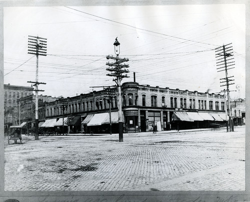 Tribune file photo  This undated photo shows the Galena Building at 200 South State Street in Salt Lake City.