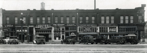 Tribune file photo  This 1933 photo shows the Galena Building at 200 South State Street in Salt Lake City.
