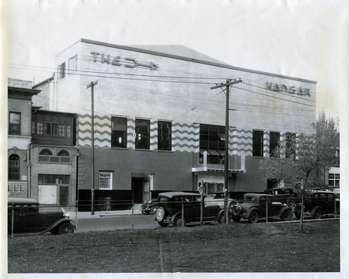Tribune file photo  The Hangar, a dance club in Salt Lake City, is seen in this 1933 photo.